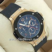 Наручные часы Hublot Big Bang AAA Black/Gold/Black