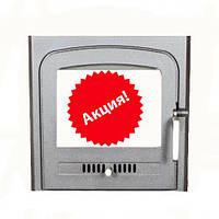 Чугунная дверца для печи SVT 370x460