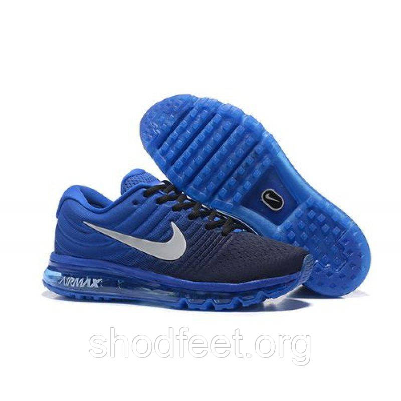 Мужские кроссовки Nike Air Max 2017 Obsidian White Deep Royal Blue