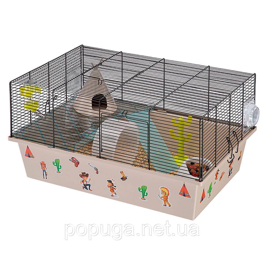 Клетка для мышей и хомяков MILOS LARGE FAG WEST Ferplast, 58*38*30,5см