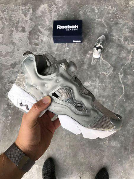 Женские кроссовки в стиле Reebok Insta Pump Grey (36, 37, 38  размеры)