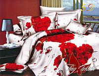 Комплект постельного белья MS-CY4444 евро (TAG microsatin(evro)-047)