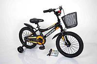 """Велосипед INTENSE 16"""" N-200 чорно-помаранчевий, фото 1"""