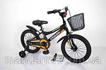 """Велосипед INTENSE 16"""" N-200 черно-оранжевый"""