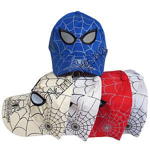 """Кепка детская для мальчиков """"Человек паук"""" 52 р. (котон) Вьетнам Оптом 5278"""