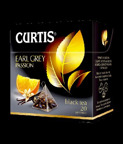 Чай черный Earl Grey Passion  Curtis в пирамидках, 20 пак, фото 2