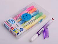 Набор маркеров для текста восковых, 6 цветов