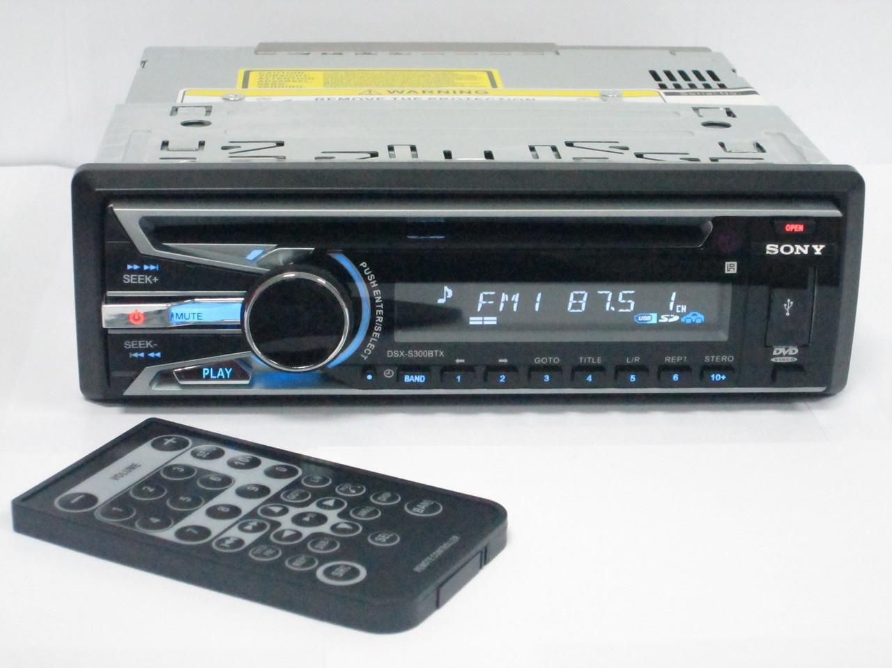 DVD Sony DSX-S300BTX USB+Sd+MMC