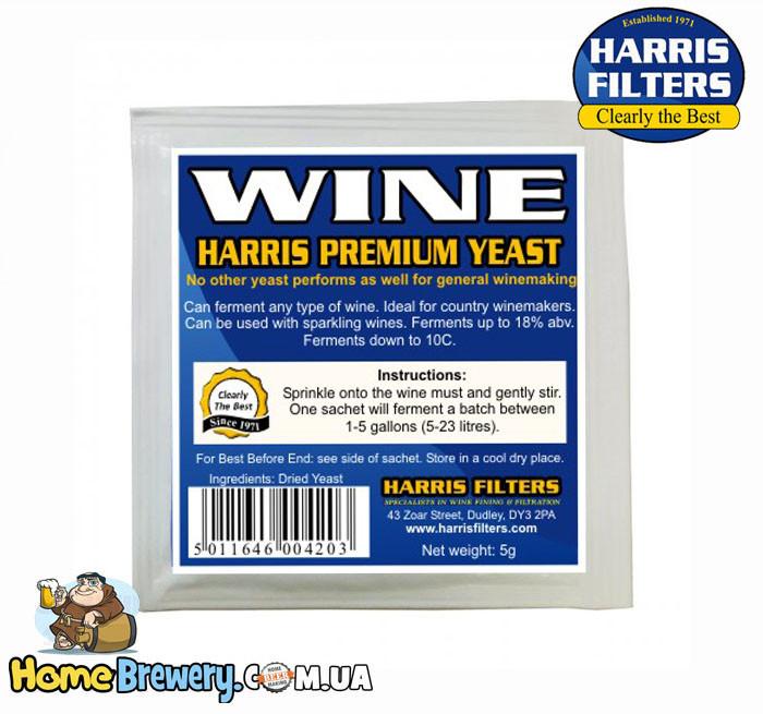 Винные дрожжи Harris Premium Wine Yeast