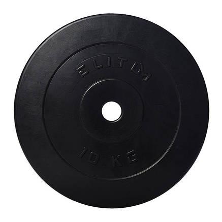 Диск композитний ELITUM 10 кг, фото 2