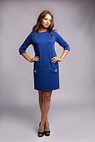 Красивое женское платье прямого покроя, фото 1