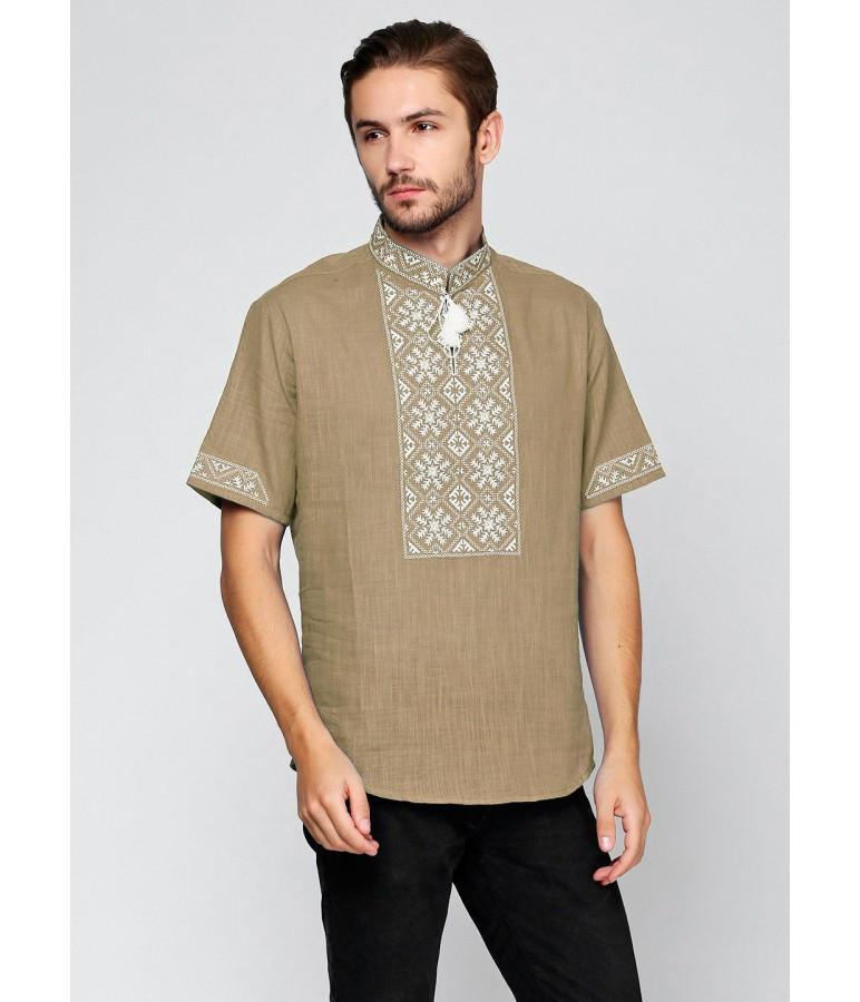 Вишита футболка хрестиком. Чоловіча футболка в українському стилі. Футболка вишиванка. Сучасні вишиванки.