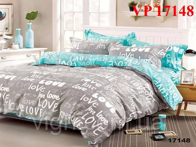 Постельное белье, двухспальное, ранфорс Вилюта «VILUTA» VР 17148