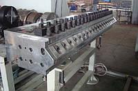 Экструзионная линия для листов из ПВХ шириной в 1500мм, толщиной в 0,5-2мм
