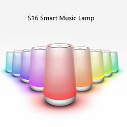 Портативный Smart LED Светильник с Bluetooth колонкой S16