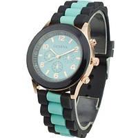 Наручные кварцевые часы Geneva 2 black mint