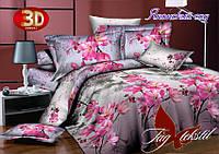 Комплект постельного белья Японский сад с компаньоном двуспальный (TAG-071д)