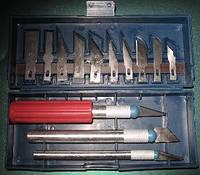 Резцы (ножи, скальпеля) для работ по дереву, пластику, гипсу. и т.п+*