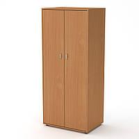 Шкаф-2 бук Компанит (79х55х183 см)