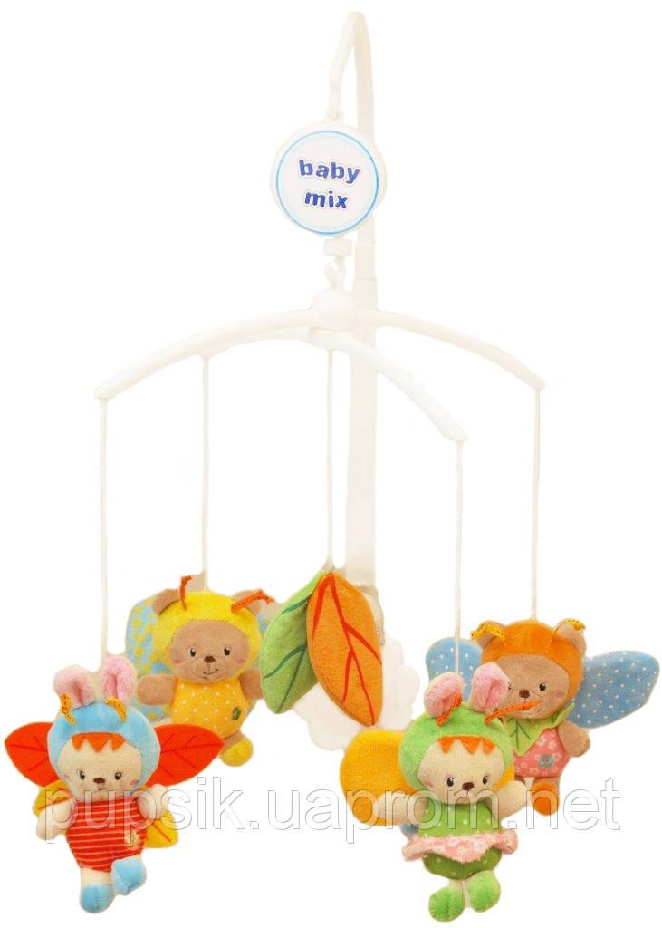 Музыкальный мобиль Baby Mix 421M Пчелки (Мягкие игрушки)