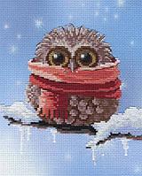 Набор для вышивания М.П. Студия РК-303 Совенок Зима
