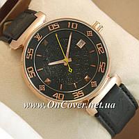 Часы механические наручные Louis VuittonMechanic Gold/Black