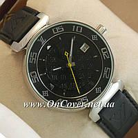 Часы механические наручные Louis VuittonMechanic Silver/Black