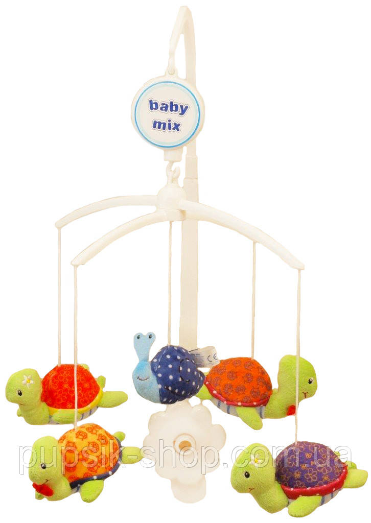 Музыкальный мобиль Baby Mix 425M Черепашка (Мягкие игрушки)