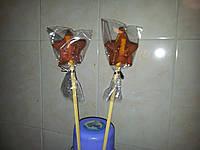 Конфета-леденец ЗВЕЗДОЧКА в подарок 6 см к новому году