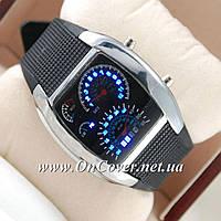 Наручные часы Спидометр Led Street Racer Black
