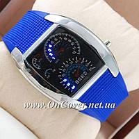 Наручные часы Спидометр Led Street Racer Blue