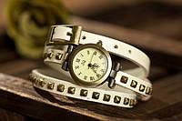 Женские наручные кварцевые часы JQ White c длинным ремешком