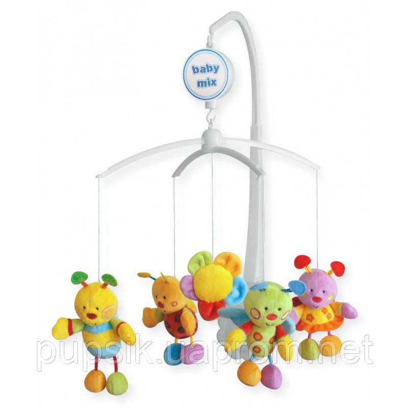 Музичний мобіль Baby Mix 781М Бджілки (М'які іграшки)