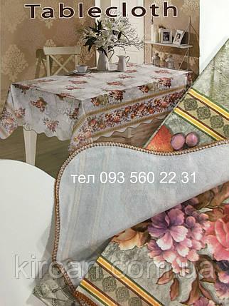 "Скатерть-клеёнка для кухни ""Волна"" 80х130 (V110039), фото 2"