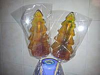 Леденец на палочке ЁЛКА 20 см в подарок на рождество