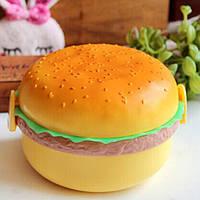 Детский ланч бокс Гамбургер (контейнер для еды)