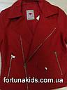 Куртки из кожзама для девочек  GLO-STORY 134/140-170 р.р., фото 5