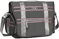 """Большая сумка для ноутбука 13"""" OGIO Monaco Messenger Bag (Gray & Pink) 114010.442, 14 л."""