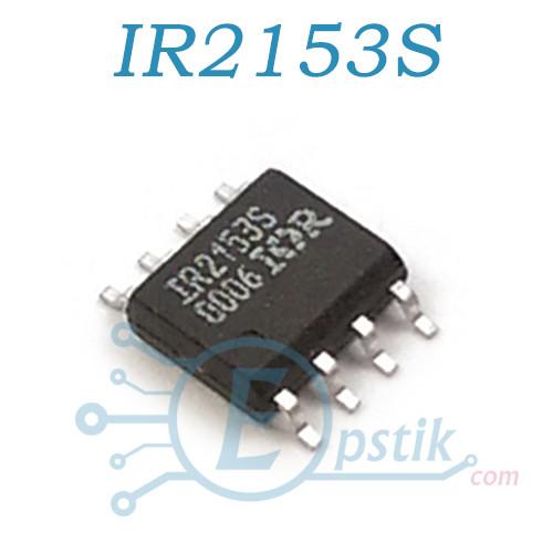 IR2153S, ШИМ Самотактируемый полумостовой драйвер SOP8