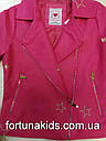 Куртки из кожзама для девочек  GLO-STORY 134/140-170 р.р., фото 6