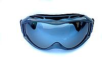 Маска (очки) горнолыжная  NICE FACE 050 (серая)