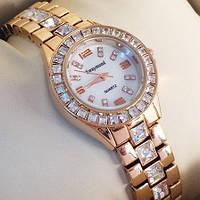 Часы Swaymond c кристаллами Swarovski rose gold