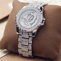 Часы женские наручные Swaymond Diamond tiger silver