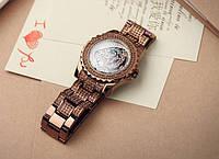 Часы женские наручные Swaymond Diamond tiger brown