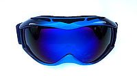 Маска (очки) горнолыжная  NICE FACE 050 (синий)