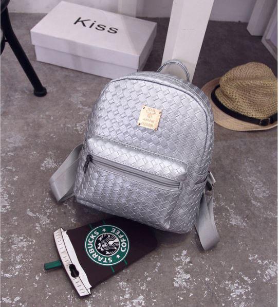 Необычный рюкзак женский Плетёнка