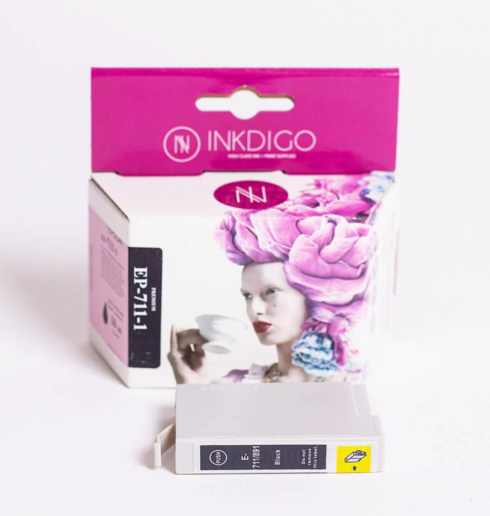 Струйный картридж Inkdigo аналог Epson C13T07114011