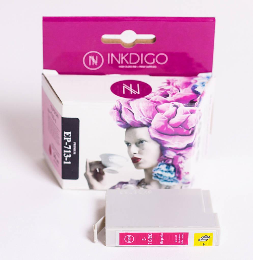 Струйный картридж Inkdigo аналог Epson C13T70134010 Magenta