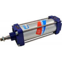 Цилиндры двухстороннего действия с торможением и односторонним штоком серии ПЦ11 Пневмоаппарат