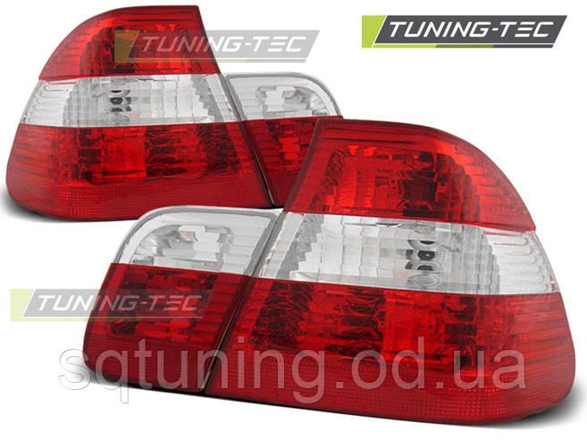 Задние фонари BMW E46 09.01-03.05 RED WHITE